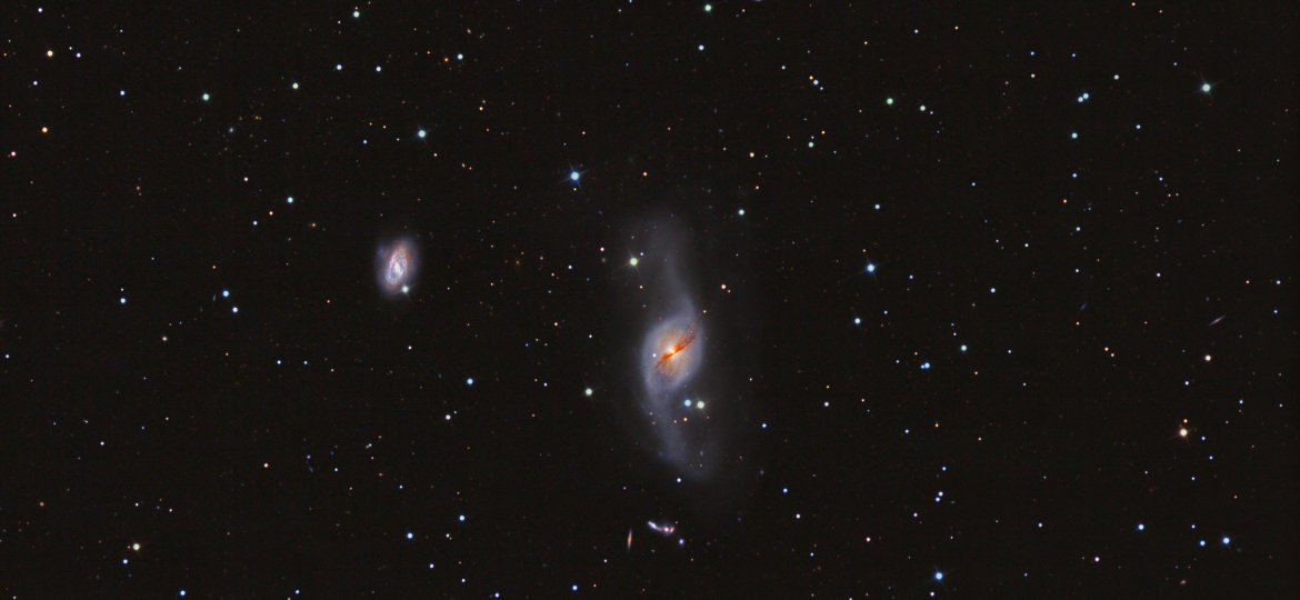 NGC3718  warped spiral galaxy in Ursa Major