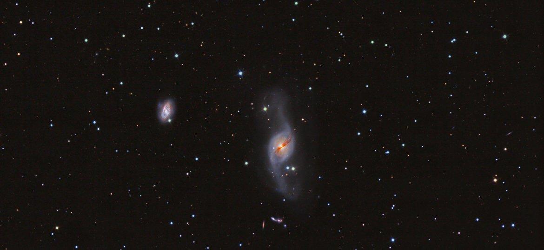 NGC3718  warped spiral galaxy in Ursa Major
